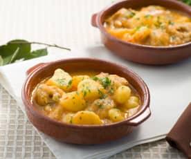 Terrine di pollo e patate (per 2 persone)