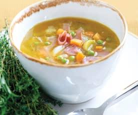 Sopa de sabores de Inverno