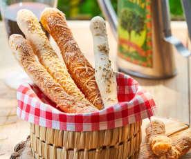 Grissinos (Palitos de pan)