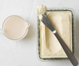 Mantequilla y suero de leche