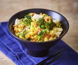"Cauliflower ""Fried"" Rice"