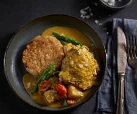 Curry de poulet des Caraïbes