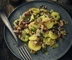 Pellkartoffel-Gurken-Salat