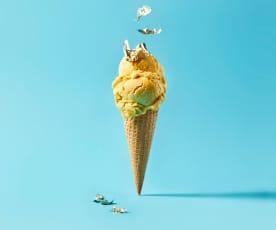 Golden Milk Eis