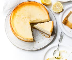 Cheesecake anglais au citron
