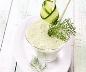 Gurken-Dill-Milchshake