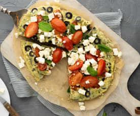 Omelette greca