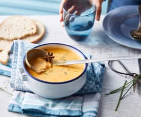 Kakosupa, soupe islandaise de langoustine