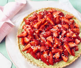 Erdbeer-Pistazien-Tarte