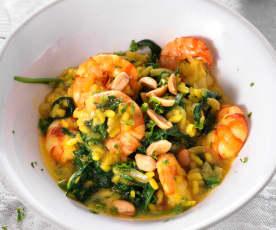 One pot riz aux crevettes