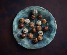 Hazelnut crunch bliss balls