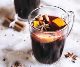 Ζεστό αρωματικό κρασί (Mulled wine)