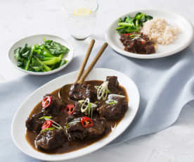 Chinese five spice beef cheeks