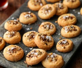 Parmesan Shortbreads with Fennel and Chilli