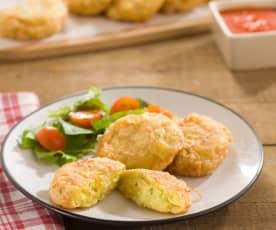 Maakouda (buñuelos de patata)