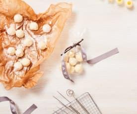 Vanilletrüffel mit Tonkabohne