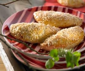 Mexické empanadas plněné hovězím masem