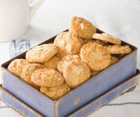 Pastas de almendra sin gluten