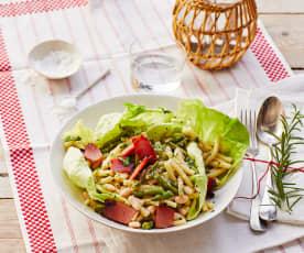 Pasta-Bohnen-Salat