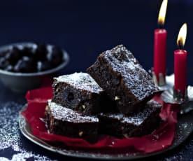 Amarenakirsch-Brownies