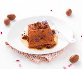 Parfait chocolat et thé fleuri