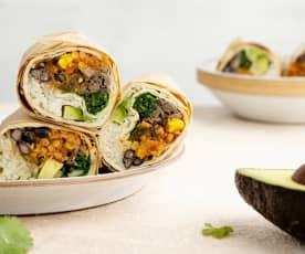 Burritos veganos