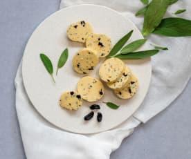 Sage and black garlic butter