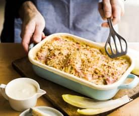 Endive au jambon et au gorgonzola