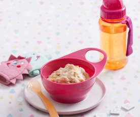 Purée ziemniaczane z łososiem (dla dzieci)