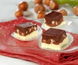 Cremino ai tre cioccolati