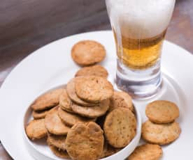 Cibulové sušenky s mákem