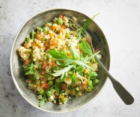Salade rafraîchissante au quinoa