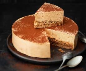 Gâteau mousse au praliné