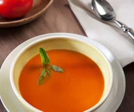 Crema ligera de tomate