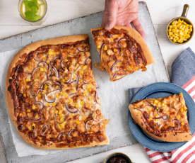 Pizza Texas barbecue