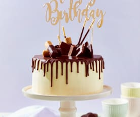 Schokoladen-Frischkäse-Torte