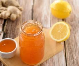 薑蜜黃檸檬