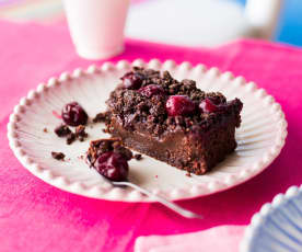 Gâteau un peu forêt-noire