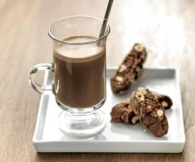 Leite com chocolate