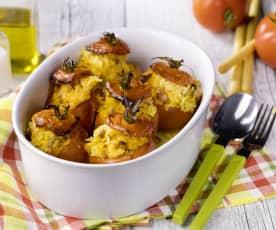Pomodori ripieni di riso basmati