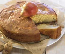 Rührkuchen mit Obst