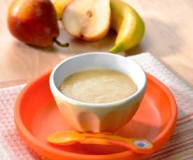 Frullato pera e banana (5-6 mesi)
