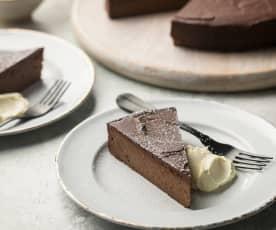 Chocolate Chestnut Torte -Torta di cioccolato e castagne