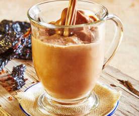 Chocolate caliente con chile