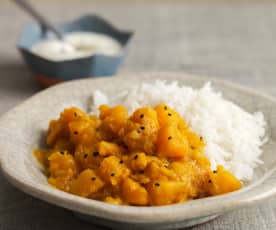 Masala Kaddu (Kürbis Curry)
