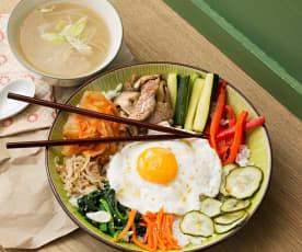 Bibimbap (plato completo coreano)