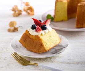 柳橙戚風蛋糕(無麩質)
