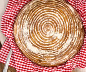 Český chléb z žitného kvásku