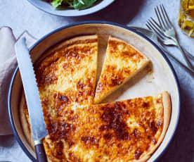 Käse-Tarte mit Cidre