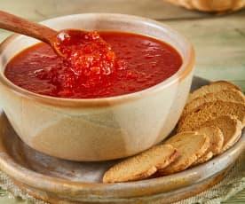 Mermelada de chile jalapeño rojo